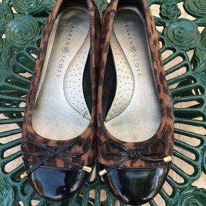 Leopard flats 🥿 size 7 Shoes Sale